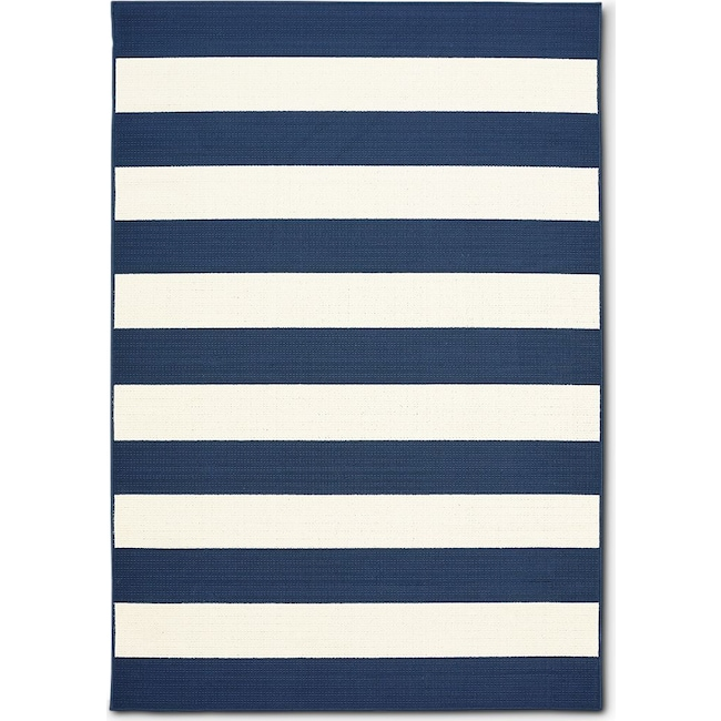 Outdoor Furniture - Awning Indoor/Outdoor Rug - Navy