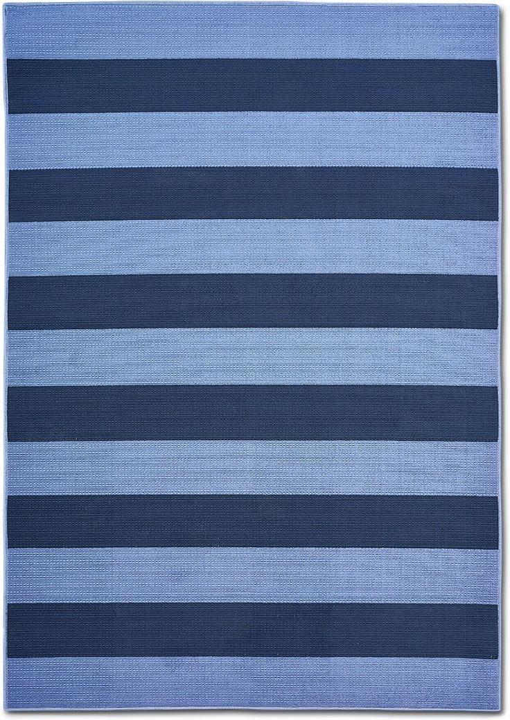 Outdoor Furniture - Awning Indoor/Outdoor Rug - Blue/Navy