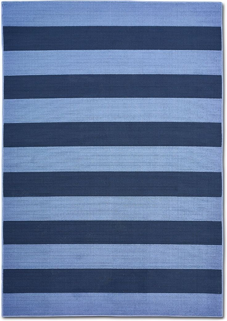 Outdoor Furniture - Awning Indoor/Outdoor Rug - Blue/Navy