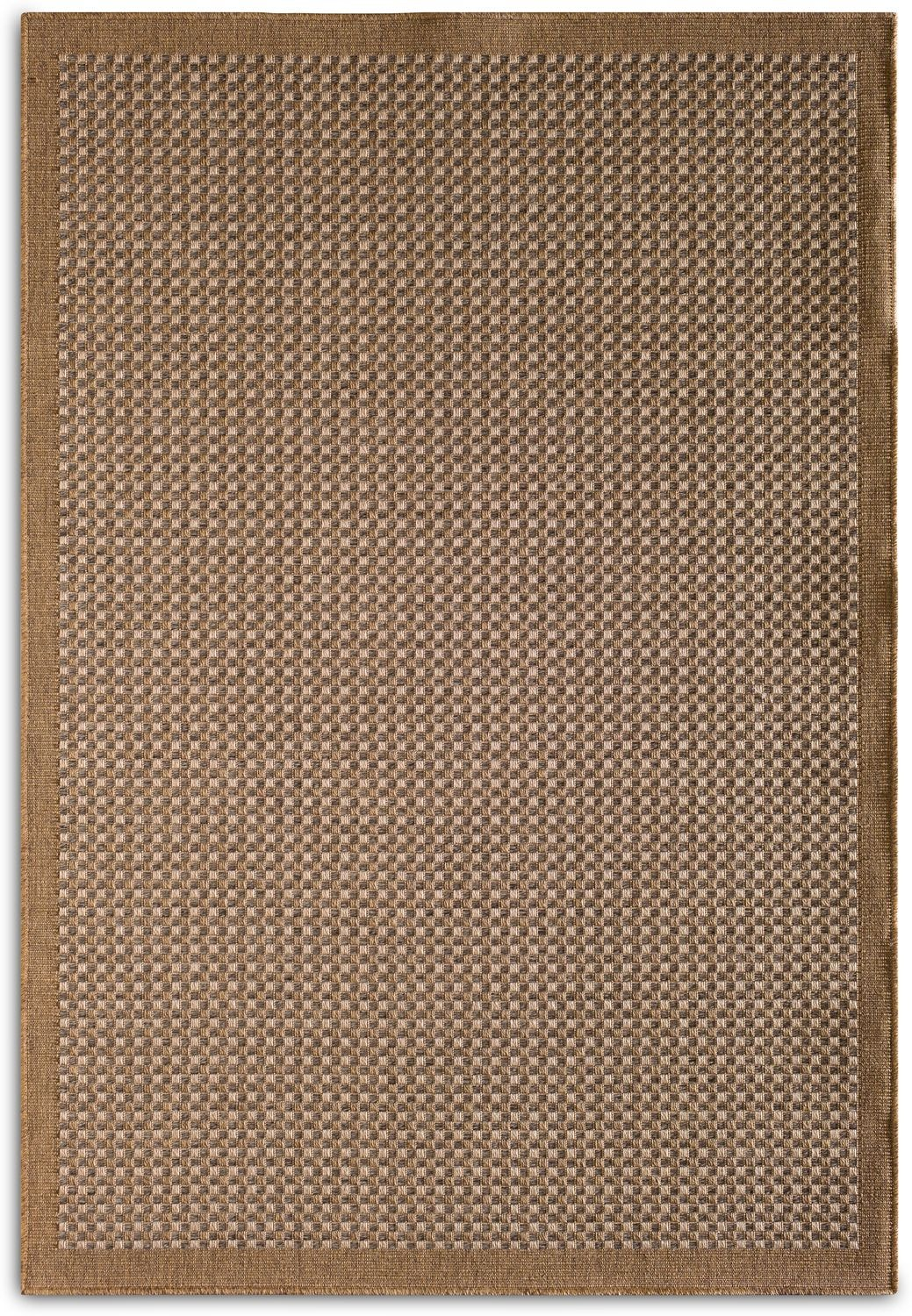 Outdoor Furniture - Basket Indoor/Outdoor Rug - Brown