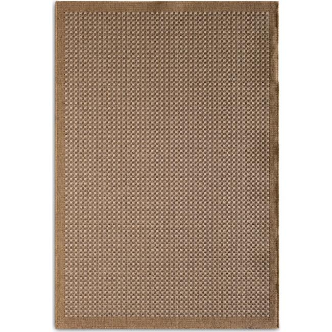 Outdoor Furniture - Basket 7' x 10' Indoor/Outdoor Rug - Brown