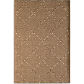 Crossways 7' x 10' Indoor/Outdoor Rug - Brown