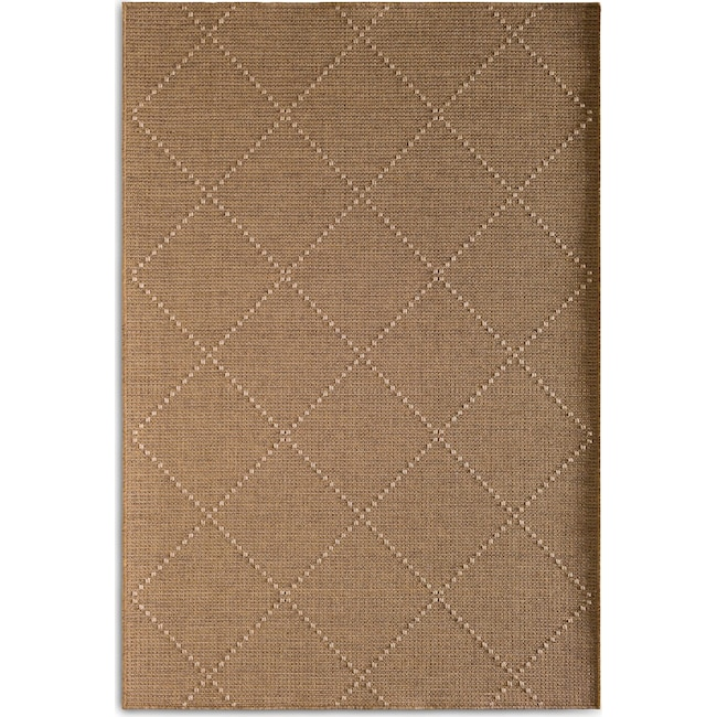 Outdoor Furniture - Crossways Indoor/Outdoor Rug - Brown
