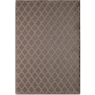 Diamond 5' x 8' Indoor/Outdoor Rug - Gray