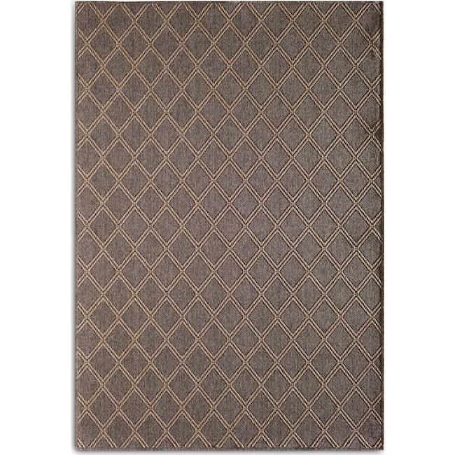 Outdoor Furniture - Diamond 7' x 10' Indoor/Outdoor Rug - Gray