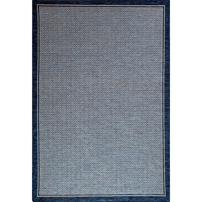 Outdoor Furniture - Dune 5' x 8' Indoor/Outdoor Rug - Blue