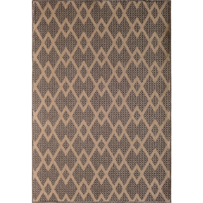 Outdoor Furniture - Palermo 8' x 10' Indoor/Outdoor Rug - Gray