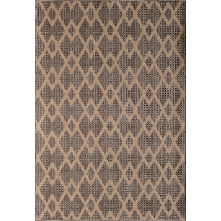 Palermo 9' x 12' Indoor/Outdoor Rug - Gray