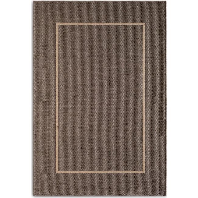 Outdoor Furniture - Pebble 8' x 10' Indoor/Outdoor Rug - Gray