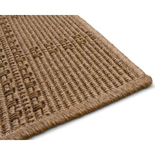 Plaid Indoor/Outdoor Rug - Beige