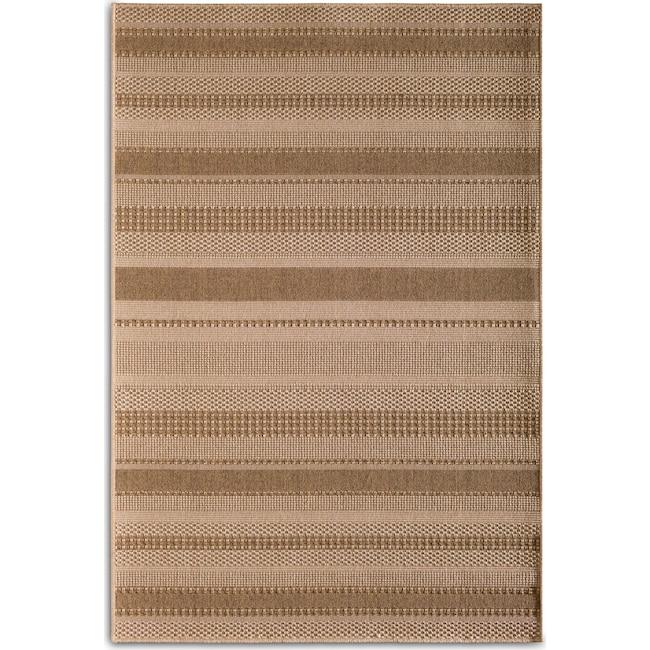 Outdoor Furniture - Stripe 8' x 10' Indoor/Outdoor Rug - Natural