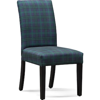 Adler Upholstered Side Chair - Plaid
