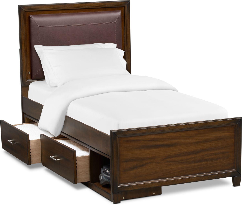 Bedroom Furniture - Sullivan Upholstered Bed with Storage