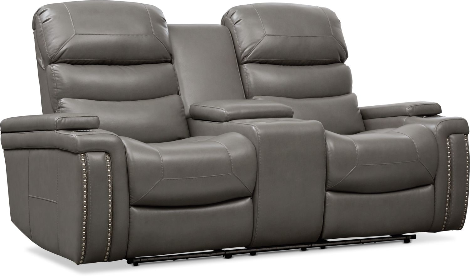Living Room Furniture - Jackson Triple-Power Reclining Loveseat