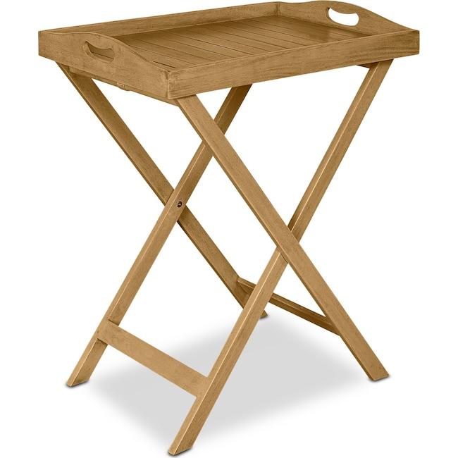 Outdoor Furniture - Hampton Beach Outdoor Folding Tray Table