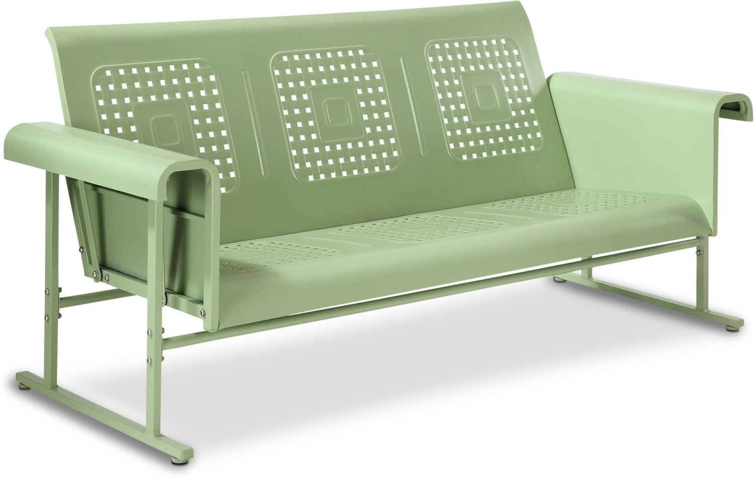 Calhoun Outdoor Glider Sofa | American Signature Furniture