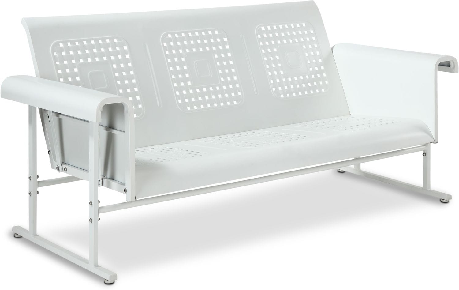 Outdoor furniture calhoun outdoor glider sofa