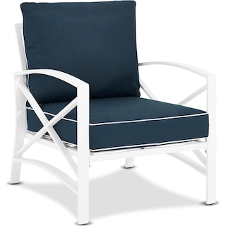 Clarion Outdoor Chair - Navy