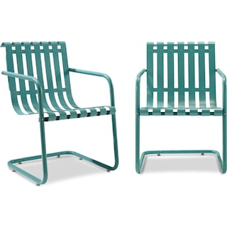 Janie Set of 2 Outdoor Chairs