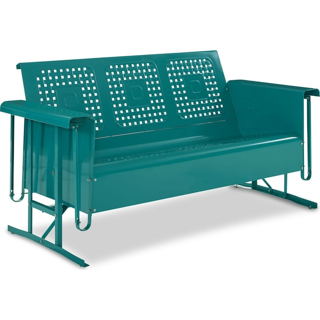 Outdoor Furniture - Preston Outdoor Sofa Glider