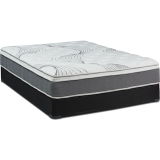Dream–In–A–Box Premium Firm Full Mattress and Foundation