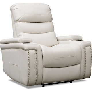 Jackson Triple-Power Recliner - Ivory