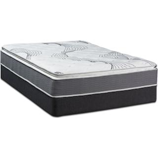 Dream–In–A–Box Premium Soft Twin Mattress and Foundation