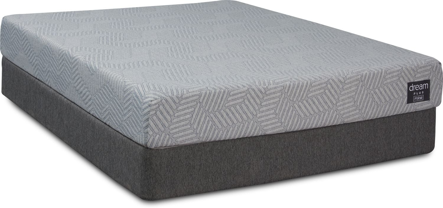 Mattresses and Bedding - Dream-In-A-Box Plus Firm Twin XL Mattress and Low-Profile Foundation