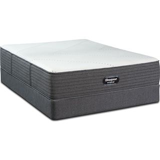 BRX1000-IP Medium King Mattress and Split Foundation