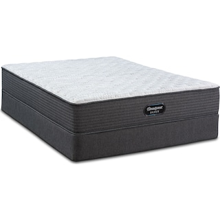 BRS900 Rest Firm King Mattress and Low-Profile Split Foundation