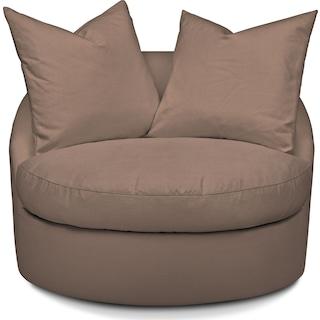 Plush Swivel Chair - Abington TW Antler
