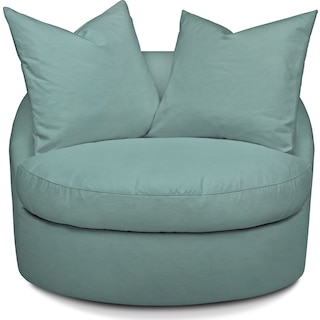 Plush Swivel Chair - Toscana Spa