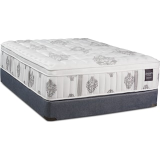 Dream Restore Medium Full Mattress and Low-Profile Foundation