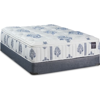Dream Restore Soft California King Mattress and Low-Profile Split Foundation