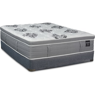 Dream Revive Firm Queen Mattress and Low-Profile Foundation
