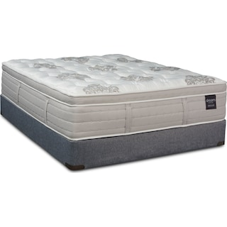 Dream Revive Medium Queen Mattress and Low-Profile Split Foundation