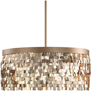 Tillie Chandelier - Gold