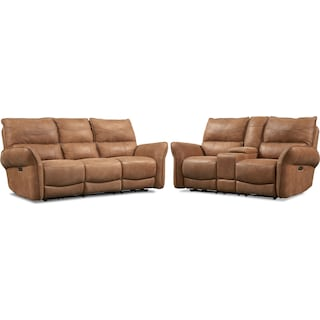 Aspen 2-Piece Sofa and Loveseat
