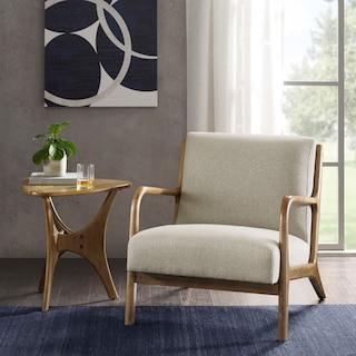 Finn Accent Chair - Cream