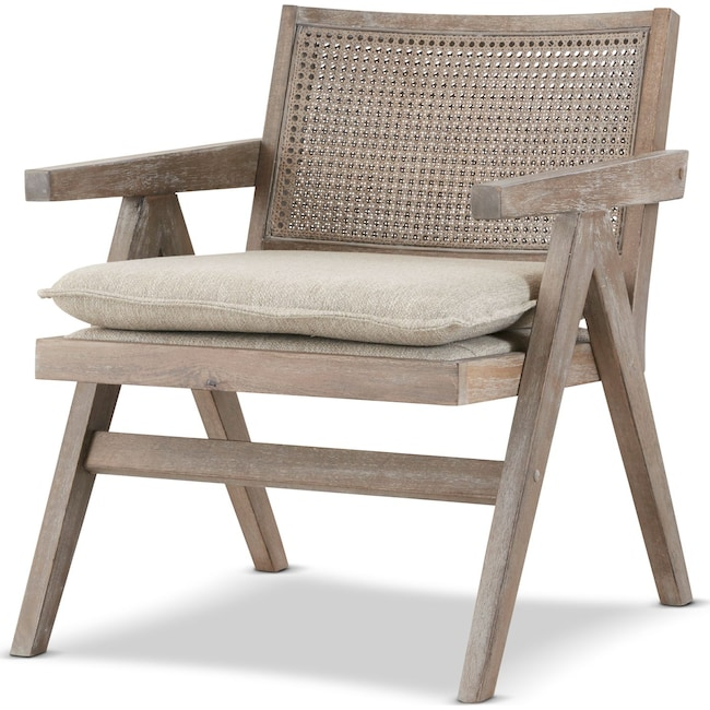 Accent and Occasional Furniture - Jefferson Accent Chair - Gray