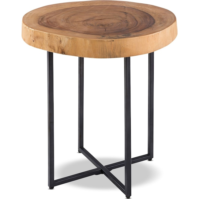 Accent and Occasional Furniture - Natural Arcadia End Table