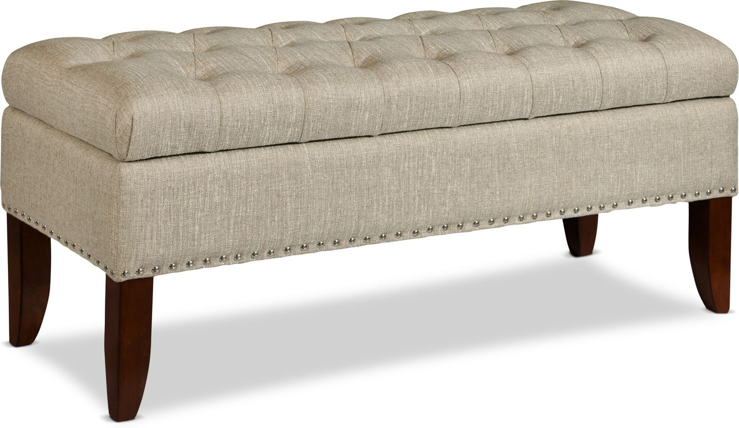 Accent and Occasional Furniture - Harper Storage Bench