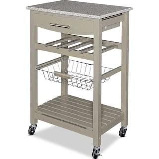 Avon Granite Kitchen Cart