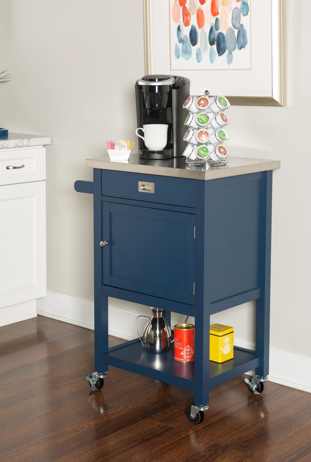 Accent and Occasional Furniture - Highland Apartment Cart
