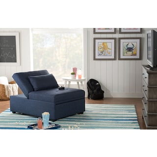 Riley Dozer Bed - Blue