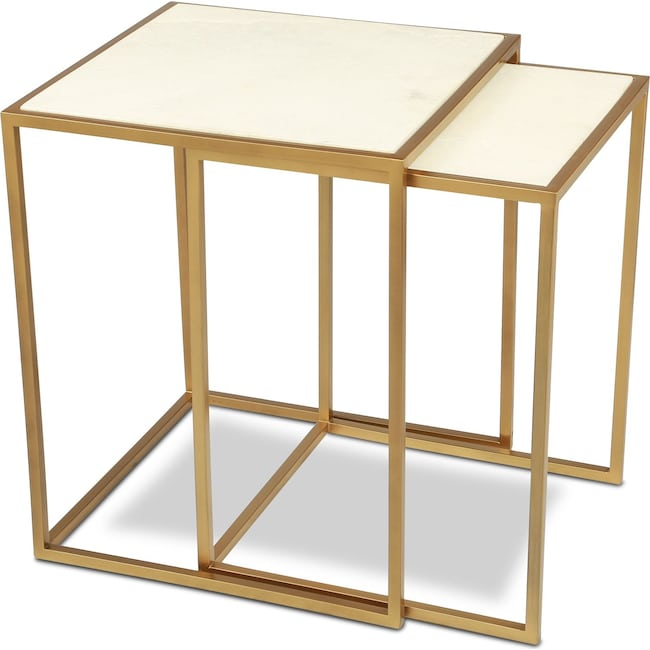 Accent and Occasional Furniture - Kensie Nesting Tables
