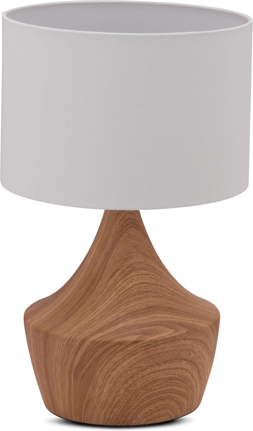 Home Accessories - Wood Table Lamp - Natural