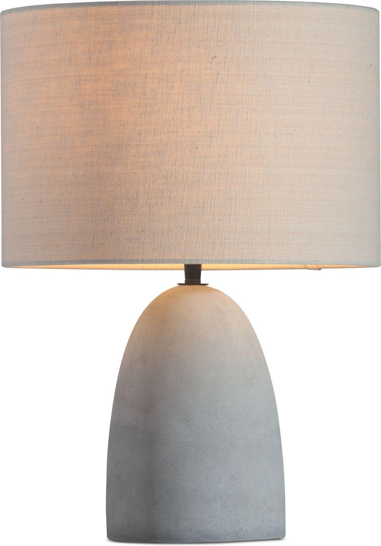 Home Accessories - Concrete Table Lamp