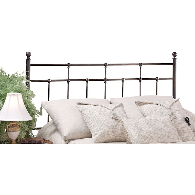 Bedroom Furniture - Prove King Headboard- Bronze