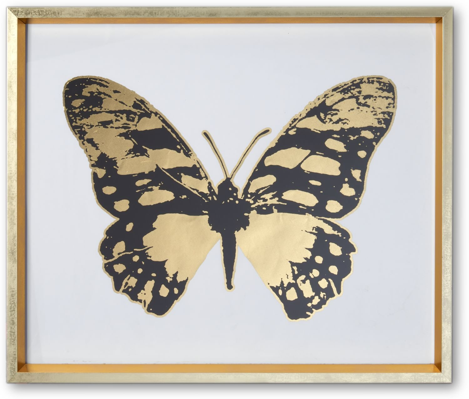 Home Accessories - Butterfly Wall Art - Black/Gold